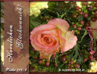 Herzlichen Glückwunsch! Psalm 103,8 Barmherzig und gnädig ist der HERR, geduldig und von großer Güte.
