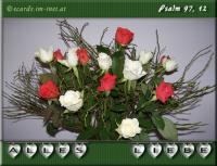 Alles Liebe! Psalm 97,12 Freut euch an dem HERRN, ihr Gerechten, und preist seinen heiligen Namen!