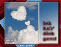 Ich hab' dich gern. Psalm 20,5 Er gebe dir, was dein Herz begehrt, und lasse alle deine Vorhaben gelingen!