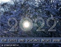 Ein gutes und schönes neues Jahr!